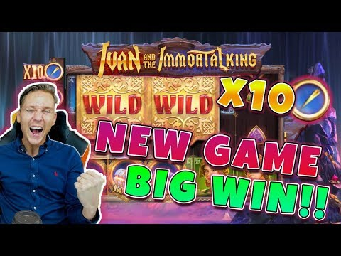 Ivan The Immortal King Big Win - New Game From Quickspin - Free Spins (Online Casino)