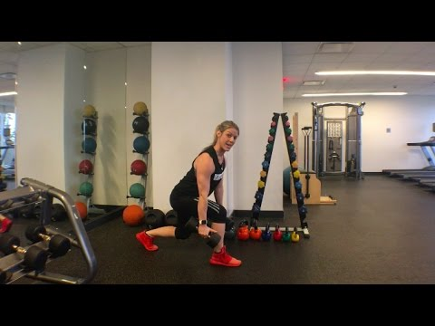 The Forward Leaning Lunge