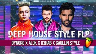 Baixar Dynoro x Alok X R3HAB X Gaullin x Lithuania HQ Deep House Style FLP