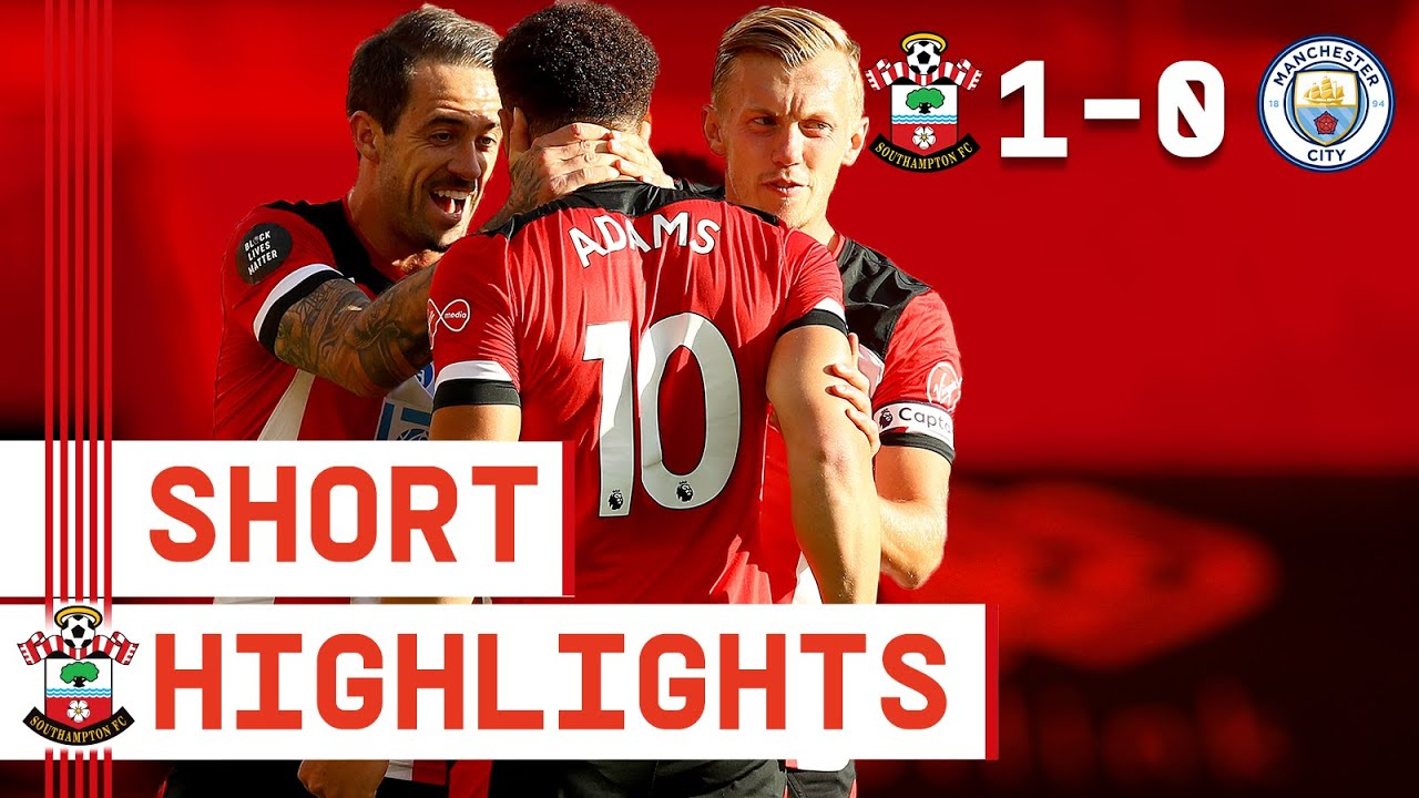 90-SECOND HIGHLIGHTS: Southampton 1-0 Manchester City   Premier League