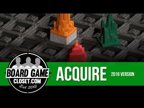 Acquire Board Game 2016 Version