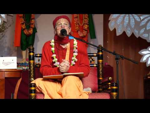 Sacinandana Swami Sadhu Sanga retreat 2014 SB class part 1 (best Srimad Bhagavatam Class ever)