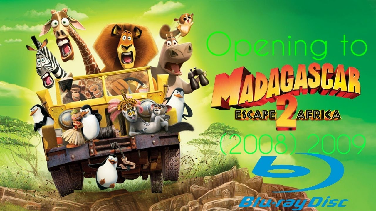 Download Opening to Madagascar: Escape 2 Africa (2008) 2009 Blu ray [Remastered] {2014 Fox reprint}