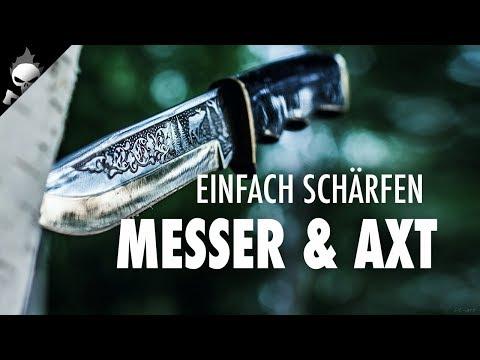 Ganz einfach Messer & Axt schärfen in der Praxis // Frage & Antwort #4