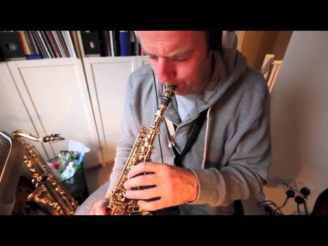 Freddie Freeloader on Tenor, Soprano, Flute and Guitar