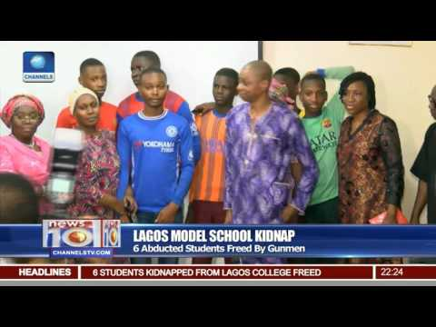 News@10: 6 Abducted Students Of Lagos Model School Freed By Gunmen 28/07/17 Pt 2