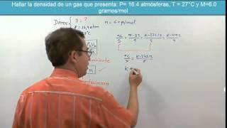 Gases ideales  3  Ecuación de estado  de los gases
