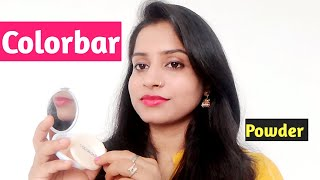 Colorbar compact powder review || Colorbar radiant white uv fairness compact powder