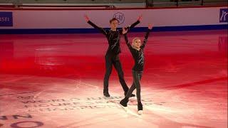 Ксения Ахантьева - Валерий Колесов. Показательные выступления. Чемпионат мира по фигурному катанию