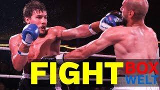Ali Hussein vs Thomas Piccirillo - 6 rounds middleweight - 03.10.2017 - Zirkus Busch