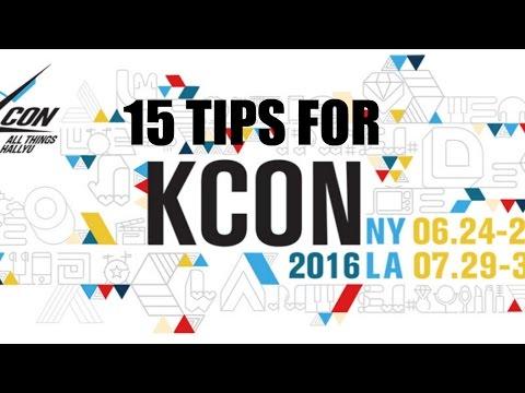 15 TIPS ON HOW TO SURVIVE KCON @kconusa