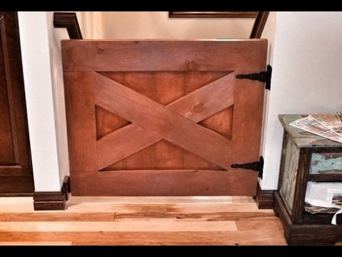 Amazing Barn Door Baby Gate Youtube