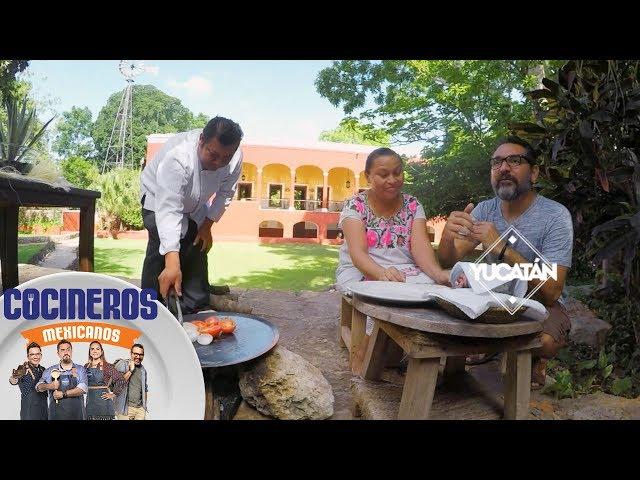 Nico descubre el sabor de los papadzules   Cocineros Mexicanos