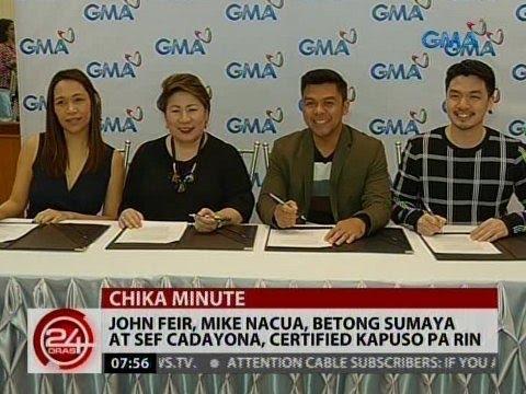 John Fier, Mike Nacua, Betong Sumaya at Sef Cadayona, certified Kapuso pa rin