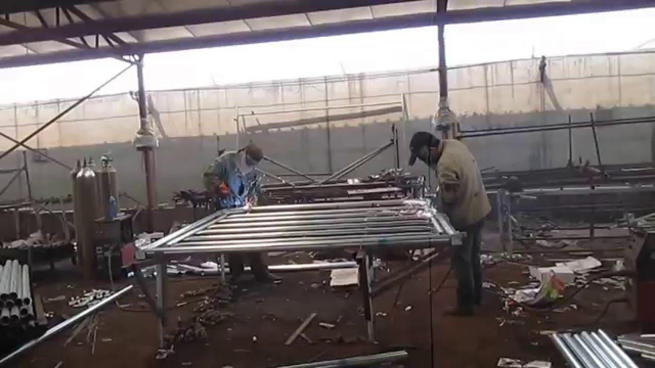 Cattle Panel Gate Welding Xiangming Youtube