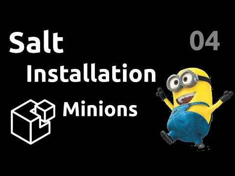 Installation des minions - #Salt 04