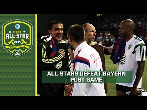 MLS All-Stars defeat Bayern Munich | Post Game reaction