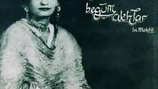 Begum Akhtar   Woh jo hum me tum me qarar tha   Momin