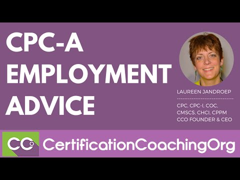 CPC-A Employment Advice | CPC-A Jobs
