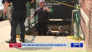Teen escapes police custody in Brooklyn: NYPD