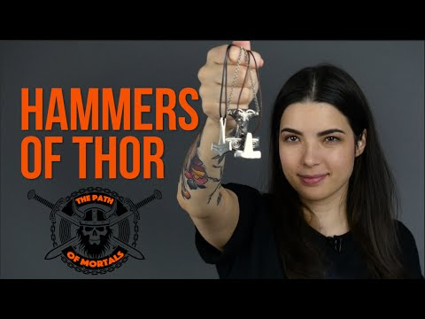 THOR HAMMERS - Silver Pendants// The Path of Mortals