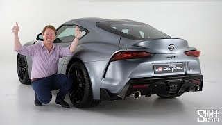 New Toyota GR SUPRA! | FIRST LOOK