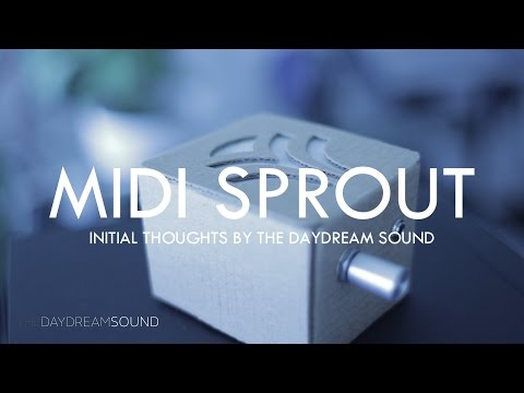 MIDI Sprout Biofeedback MIDI Converter - Initial Thoughts by The Daydream Sound