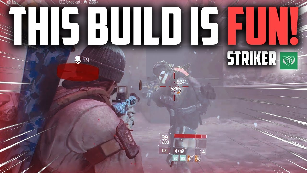 The Division 1 - THIS STRIKER BUILD IS FUN IN THE DARK ZONE! | 100 STACKS PVP GAMEPLAY