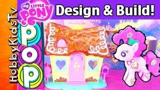 game my little pony pop sweet shoppe style set pinkie pie