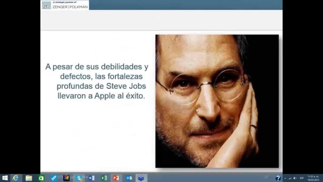f3dc1db7812 El fascinante caso de Steve Jobs - YouTube