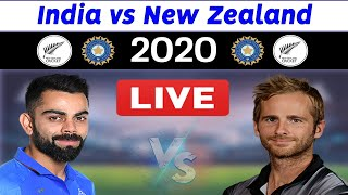 India vs New Zealand 2020 live streaming TV channels