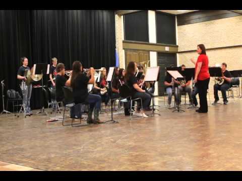 Pawnee High School Band at Tri State Music Festival - Omaha Beach Part 1/2