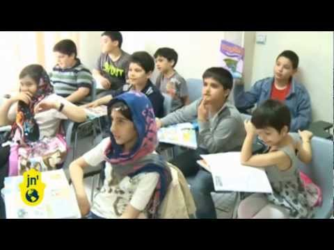 Iranians Want to Learn English: Children Attend English Language Schools