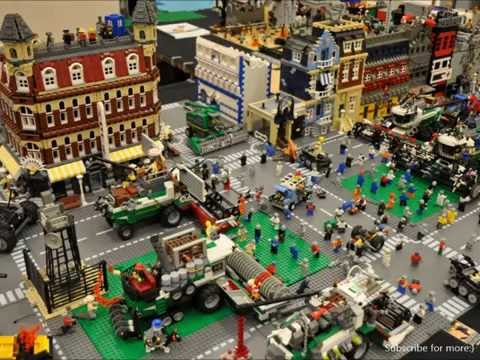 Lego City Biggest Creations And Collections In The World