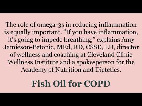 Benefits Of FISH OIL For COPD (LHwCOPD)