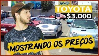 É impressionante o preço dos carros no Paraguay!