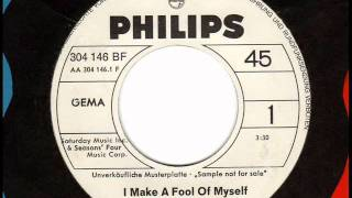 FRANKIE VALLI  I make a fool of myself  Northern Soul Promo