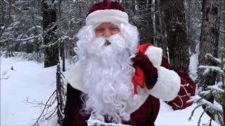 Дед Мороз идет в гости к детям