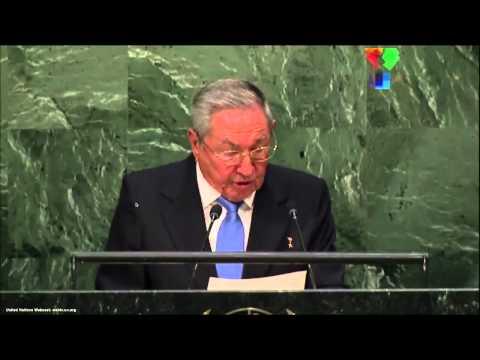 UN Speeches: Cuban President Raul Castro