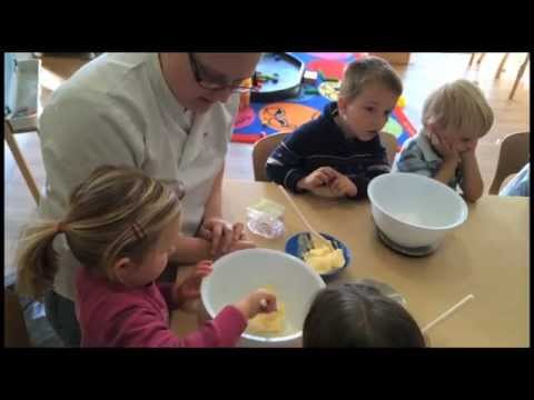 Pre-School Children Cooking! Kiddi Caru Day Nurseries