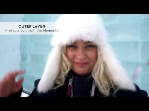 How to dress for winter in Swedish Lapland