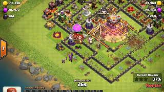 Clash Of Clans // TH11 Trophy Pushing Base 2018 defence log
