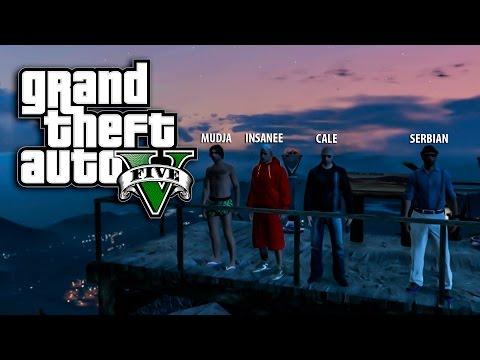 BLEJA NA JAHTI i SKAKANJE SA NAJVECE PLANINE ! Grand Theft Auto V - Zezanje