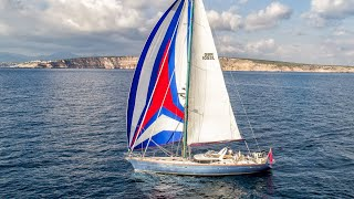 Oyster 82 Sailing Yacht BARE NECESSITIES available for Charter in the Mediterranean