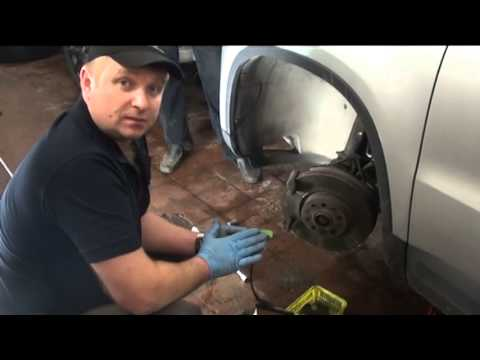 Замена колодок на Volkswagen Tiguan