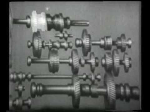 устройство токарного станка (учебный фильм)