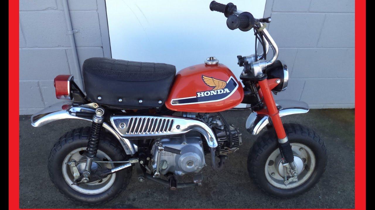 Honda Z50 Original 1977 Model Motorbike  U0026 What It U0026 39 S Worth