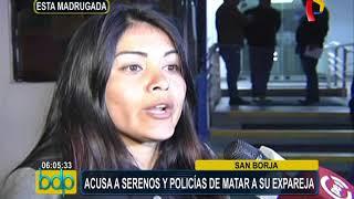 San Borja: joven muere tras ser intervenido por policías y serenos