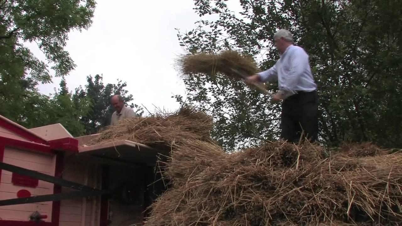 Old Time Threshing Machine - Youtube-6144