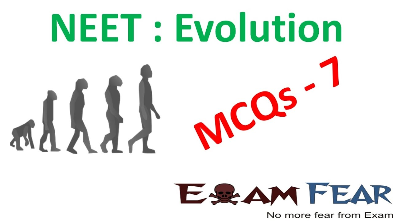 NEET Biology Evolution : Multiple Choice Previous Years Questions MCQs 7
